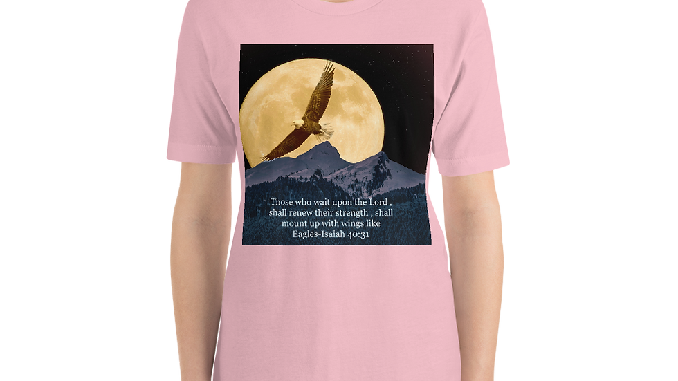 Mount up on wings like Eagles-Women's Shirts