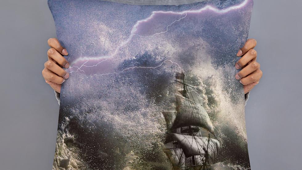 Jesus Calms the Storm-Basic Pillow