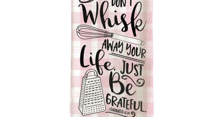 grace & truth Whisk Tea Towel
