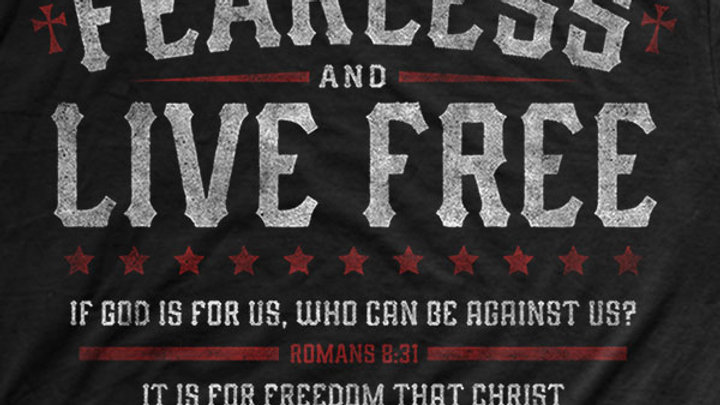 Kerusso Christian T-Shirt Fearless Romans 8:31