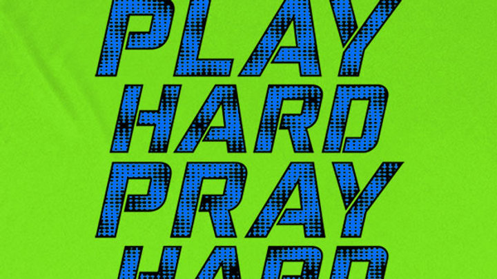 Kerusso Active Play Hard Pray Hard Mens T-Shirt