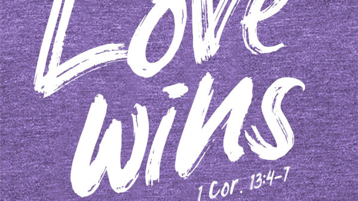 grace & truth Love Wins Hooded T-shirt