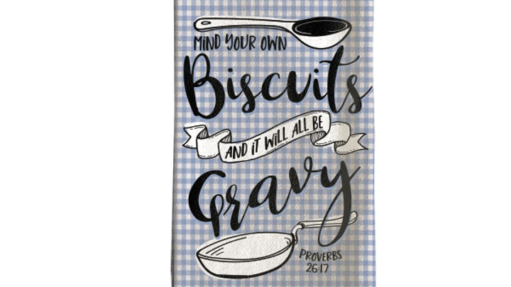grace & truth Biscuits Tea Towel