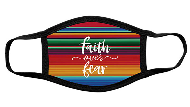 Kerusso Adult Face Mask Faith Over Fear