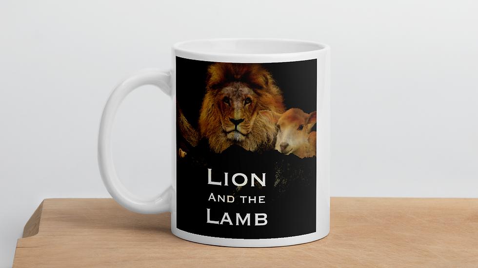 Lion and the Lamb -Mug