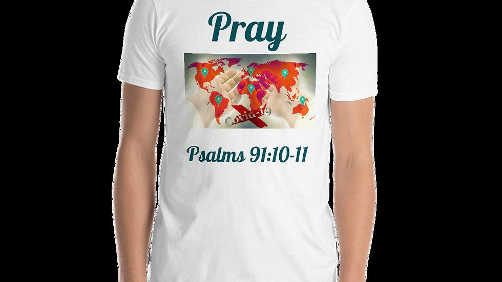 Pray- Short-Sleeve Unisex T-Shirt