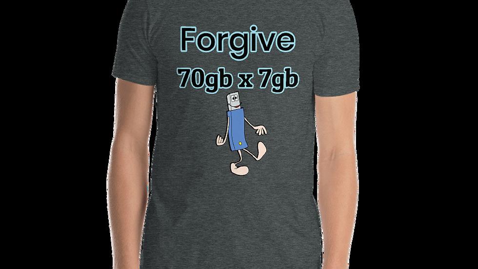 Forgive- Short-Sleeve Unisex T-Shirt