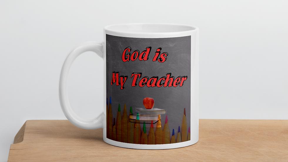 God is my teacher- Mug