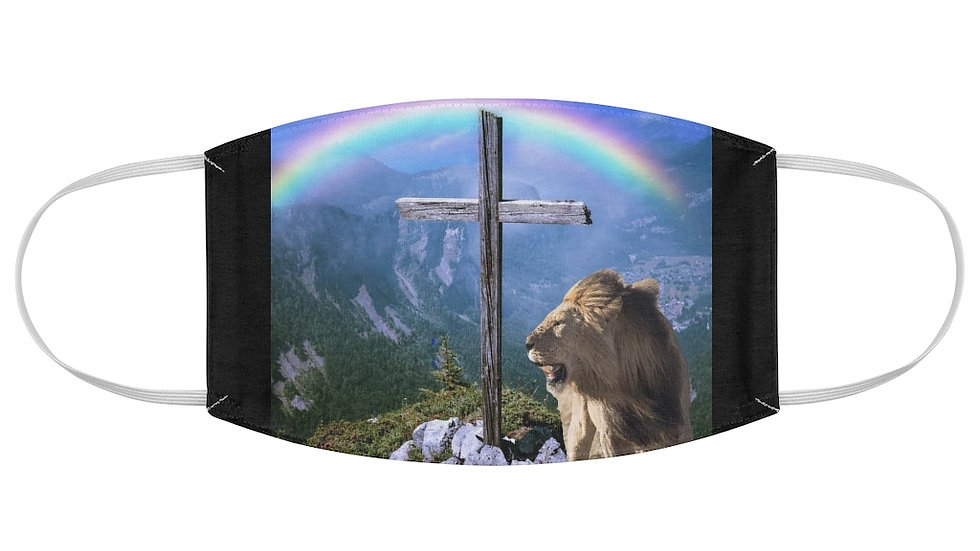 Fabric Face Mask-Lion[Jesus] God Covenant