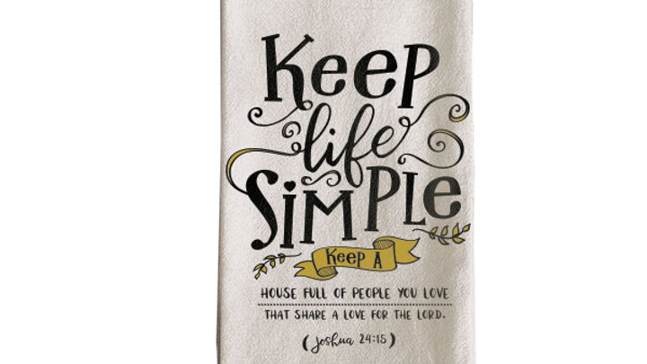 grace & truth Simple Tea Towel