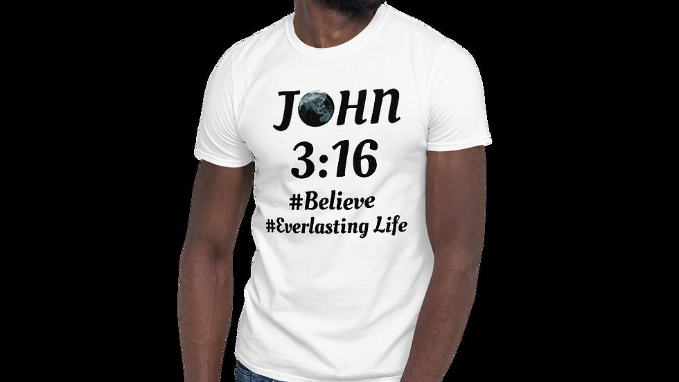 John 3:16 Short-Sleeve Unisex T-Shirt