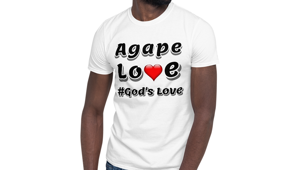 Agape Love- Short-Sleeve Unisex T-Shirt