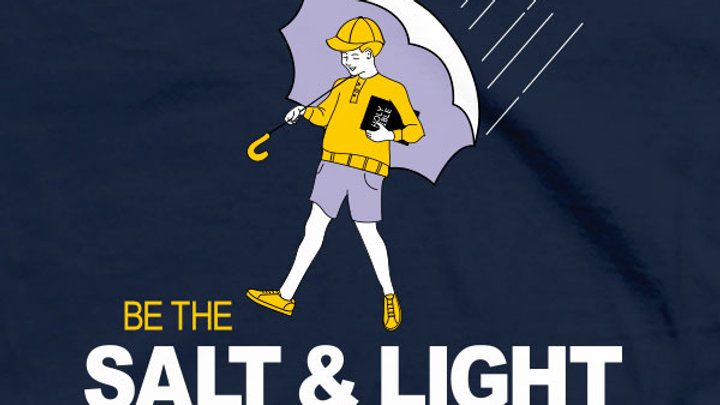 Kerusso Christian T-Shirts Salt and Light Matthew 5:13-16
