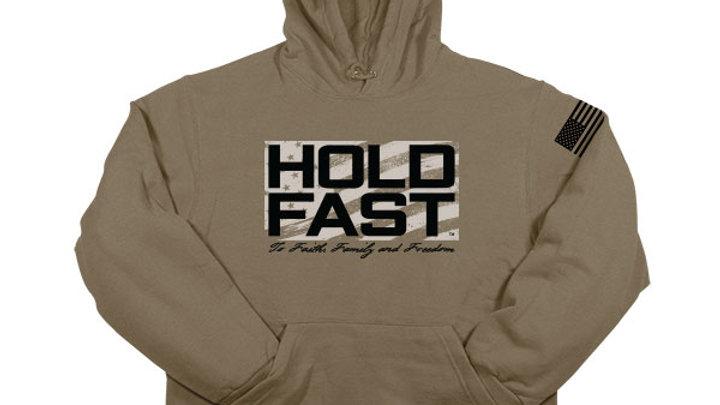 HOLD FAST Mens Hooded Sweatshirt Hold Fast Logo