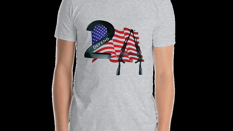 Short-Sleeve Unisex T-Shirt-Defend 2A