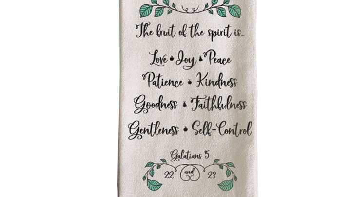grace & truth Fruit Tea Towel