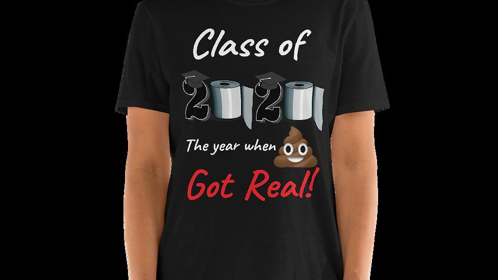 Unisex Class of 2020- Short-Sleeve Unisex T-Shirt