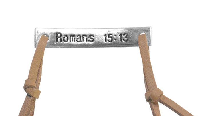 Faith Gear® Hope Womens Word Bracelet