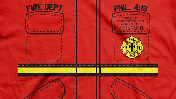 Fire Department Kids Christian T-Shirt