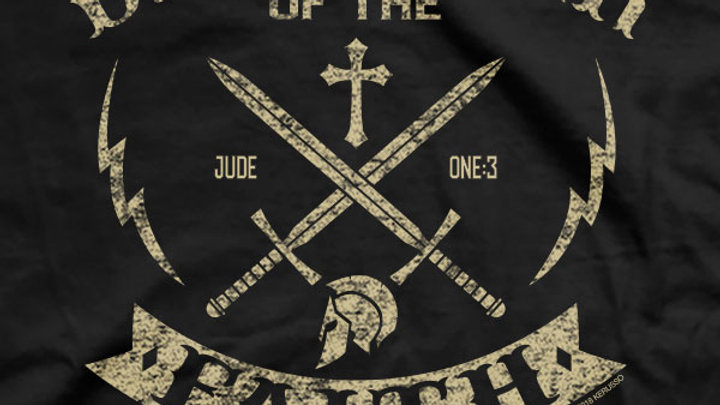 Kerusso® Christian T-Shirt Defender Of The Faith