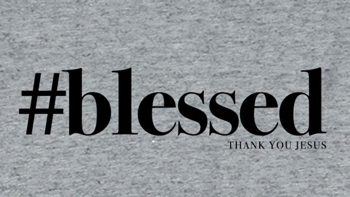 grace & truth® Womens T-Shirt Blessed