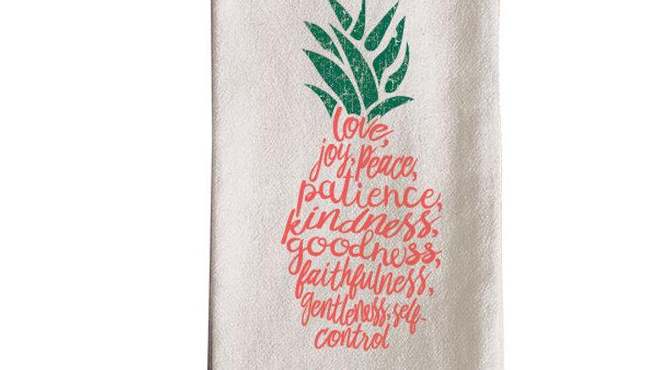 grace & truth Pineapple Tea Towel