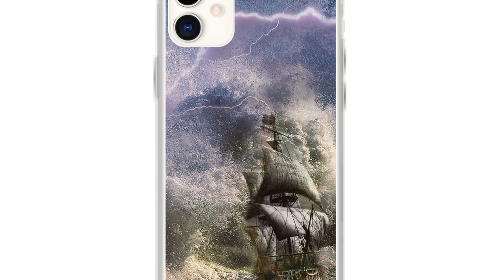 Jesus calms the storm- iPhone Case