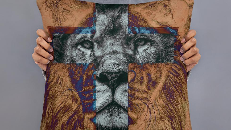 Lion of Judah- Basic Pillow