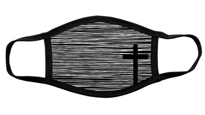 Kerusso Adult Face Mask Cross