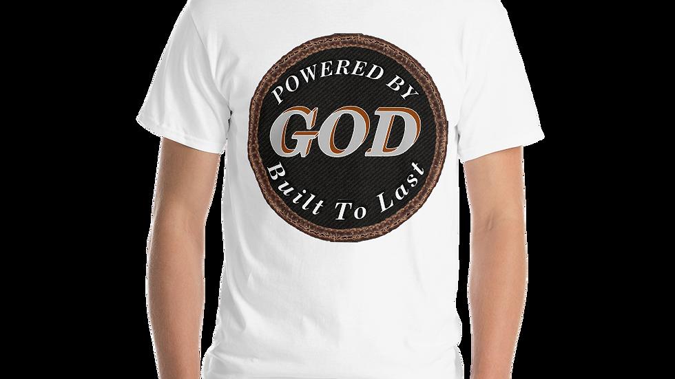Short Sleeve T-Shirt-Powered by God