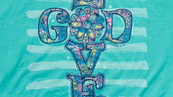 Cherished Girl Christian T-Shirt Love God