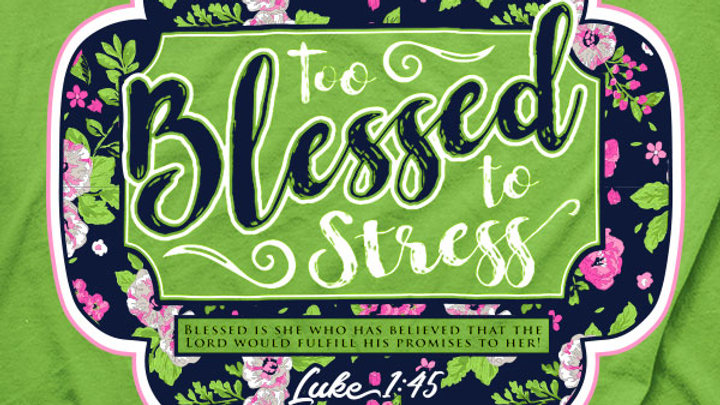 Cherished Girl Too Blessed T-Shirt