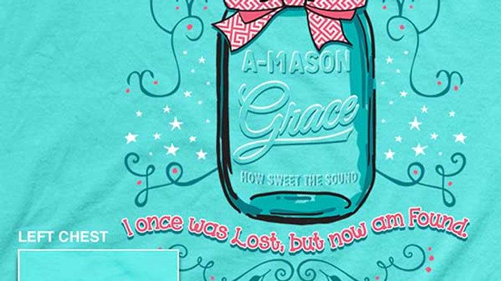 A-Mason Grace Christian T-Shirt