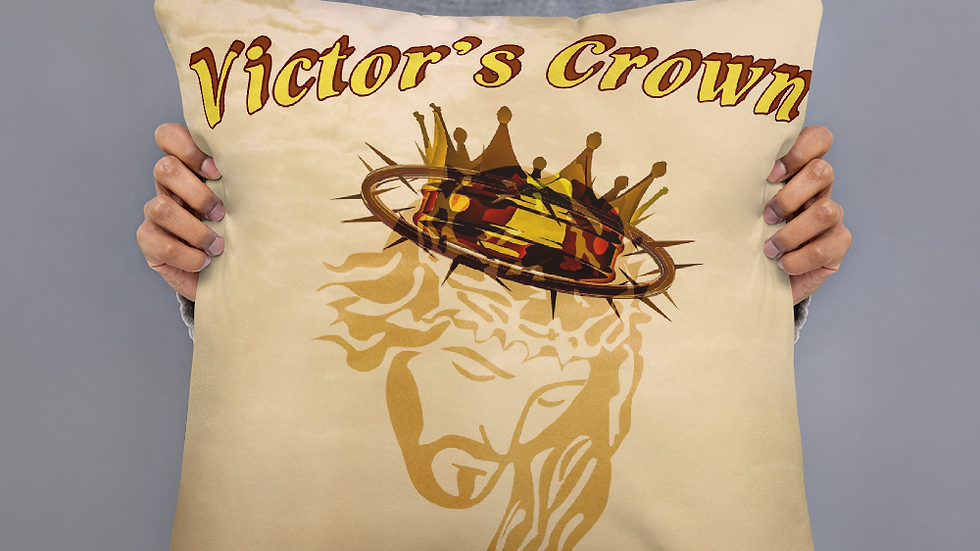 Victor's Crown- Basic Pillow