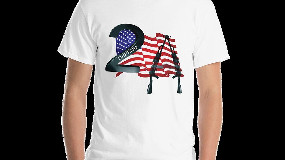 Short Sleeve T-Shirt-Men's Defend 2A