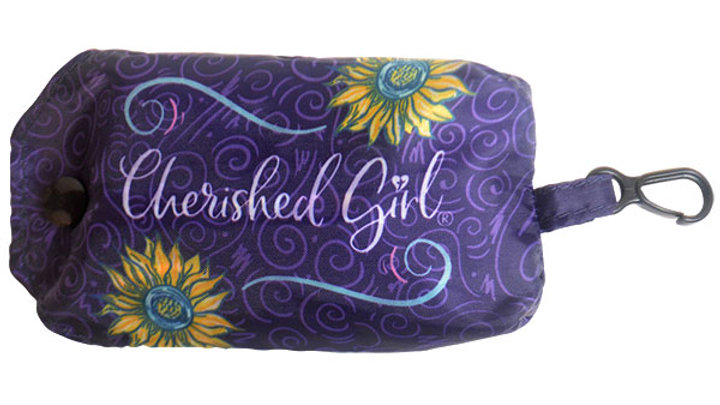 Cherished Girl Christian Reusable Shopping Bag Be Still