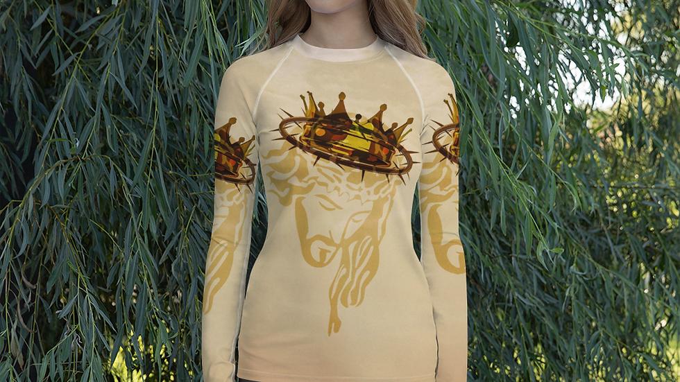 Victor's Crown- Women's Rash Guard-All over print