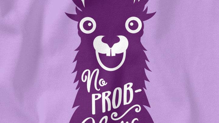 Kerusso Baby T-Shirt No Prob-Llama