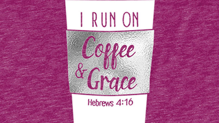 grace & truth Coffee & Grace V-Neck T-Shirt