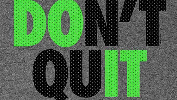 Kerusso Active Youth T - Don't Quit