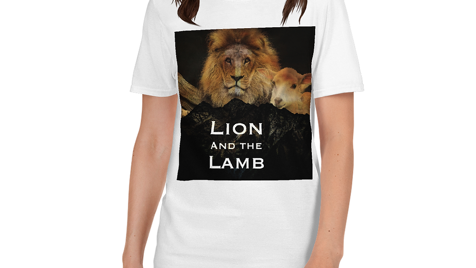 Lion and Lamb-Womens Shirt