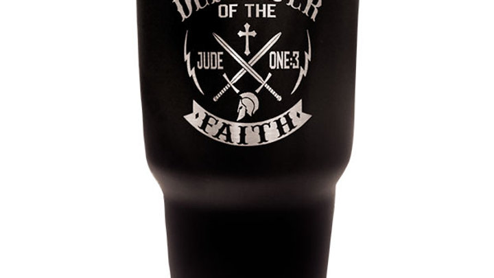 Kerusso Defender Of The Faith Stainless Steel Tumbler