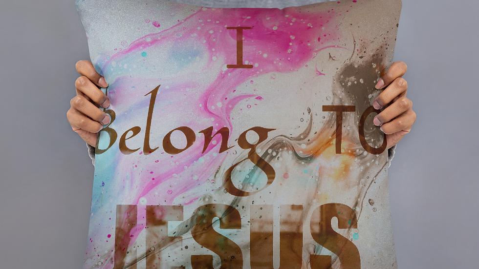 I belong to Jesus-Basic Pillow