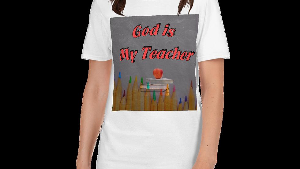 God is my teacher-Women shirt