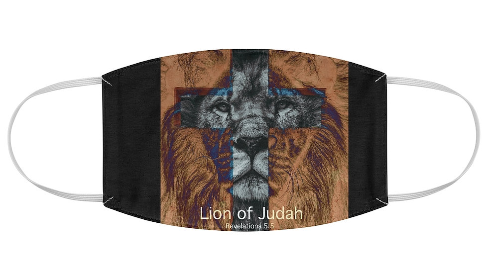 Fabric Face Mask-Lion of Judah