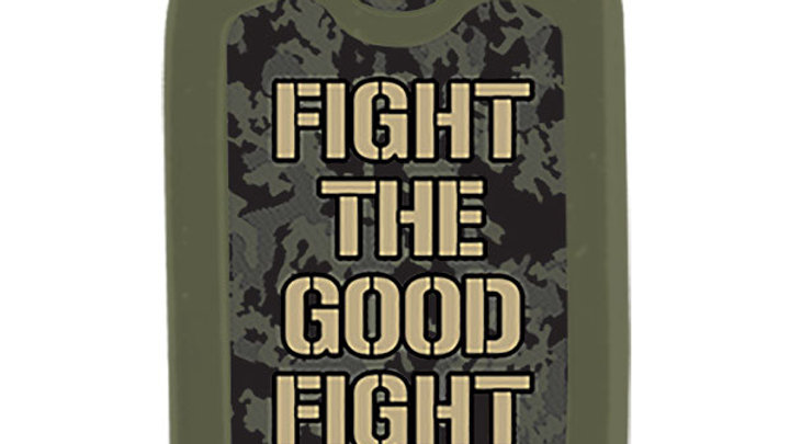 Faith Gear Christian Faith Tag Necklace The Good Fight