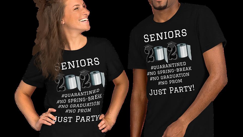 Seniors Class of 2020-Short-Sleeve Unisex T-Shirt
