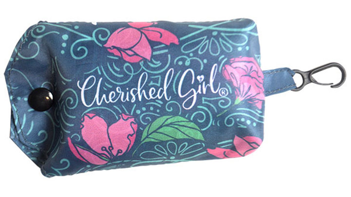 Cherished Girl Christian Reusable Shopping Bag Trust In The Lord