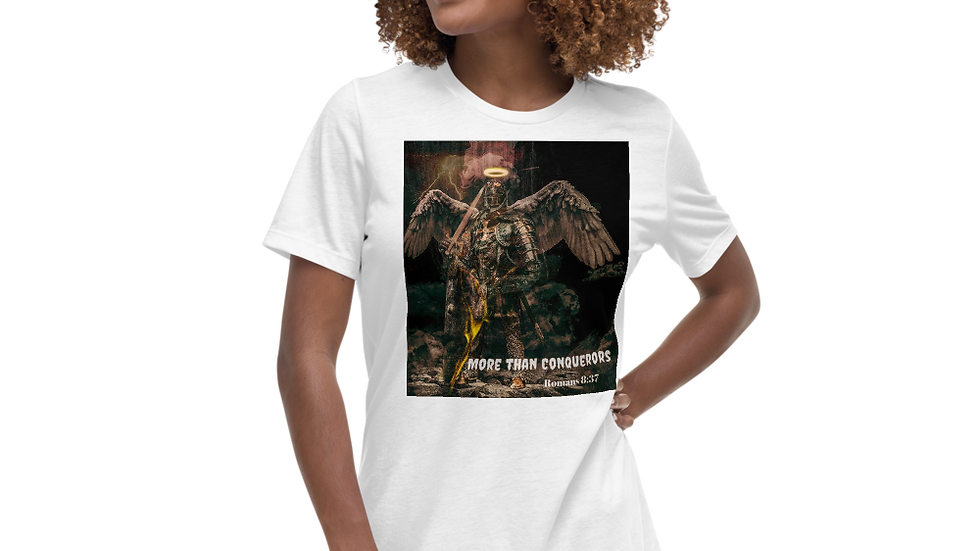 More than Conquerors- Women's Relaxed T-Shirt
