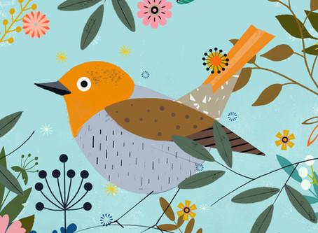 Quand les oiseaux de Charles Harper...